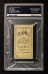 1910 T210-6 Old Mill Blue Grass League  Womble  Back Thumbnail