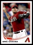 2013 Topps Update #95  Eric Chavez  Front Thumbnail
