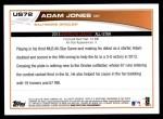 2013 Topps Update #72   -  Adam Jones All-Star Back Thumbnail