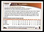 2013 Topps Update #60  Chris Tillman  Back Thumbnail