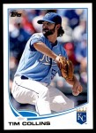 2013 Topps Update #40  Tim Collins  Front Thumbnail