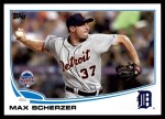 2013 Topps Update #193   -  Max Scherzer All-Star Front Thumbnail