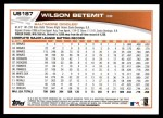 2013 Topps Update #187  Wilson Betemit  Back Thumbnail