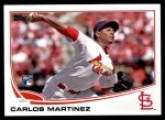 2013 Topps Update #175  Carlos Martinez  Front Thumbnail