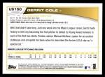 2013 Topps Update #150  Gerrit Cole  Back Thumbnail