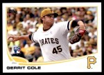 2013 Topps Update #150  Gerrit Cole  Front Thumbnail