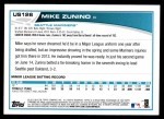 2013 Topps Update #126  Mike Zunino  Back Thumbnail
