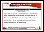 2013 Topps Update #286   -  Aroldis Chapman All-Star Back Thumbnail