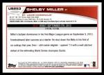 2013 Topps Update #253  Shelby Miller  Back Thumbnail