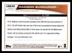 2013 Topps Update #249   -  Madison Bumgarner All-Star Back Thumbnail
