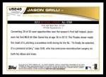 2013 Topps Update #248   -  Jason Grilli All-Star Back Thumbnail