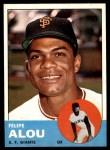 1963 Topps #270  Felipe Alou  Front Thumbnail
