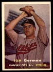 1957 Topps #87  Tom Gorman  Front Thumbnail