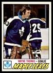 1977 Topps #19  Wayne Thomas  Front Thumbnail