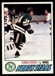 1977 Topps #132  Ernie Hicke  Front Thumbnail