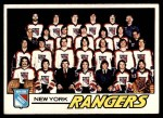 1977 Topps #82   Rangers Team Checklist Front Thumbnail