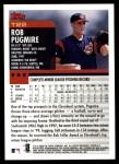 2000 Topps Traded #22 T Rob Pugmire  Back Thumbnail