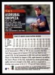 2000 Topps Traded #41 T Asdrubal Oropeza  Back Thumbnail