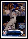 2012 Topps Update #74  Starlin Castro  Front Thumbnail