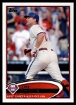 2012 Topps Update #152  Jim Thome  Front Thumbnail