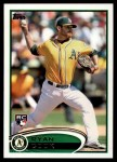 2012 Topps Update #260  Ryan Cook  Front Thumbnail