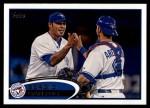 2012 Topps Update #294  Sergio Santos  Front Thumbnail