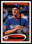 2012 Topps Update #308  Jay Bruce  Front Thumbnail
