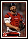 2012 Topps Update #310  Kelly Shoppach  Front Thumbnail