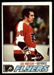 1977 Topps #247  Joe Watson  Front Thumbnail