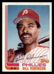 1982 Topps Traded #100 T Bill Robinson  Front Thumbnail