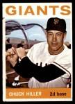1964 Topps #313  Chuck Hiller  Front Thumbnail