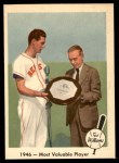 1959 Fleer #32   -  Ted Williams Most Valuable Player Front Thumbnail