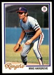 1978 Topps #172  Mike Hargrove  Front Thumbnail