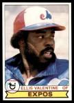 1979 Topps #535  Ellis Valentine  Front Thumbnail