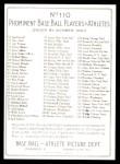 T3 Turkey Red Reprint #110  George McBride  Back Thumbnail