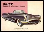 1954 Topps World on Wheels #95   Buick XP-300 Front Thumbnail