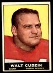 1961 Topps #179  Walt Cudzik  Front Thumbnail