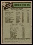 1979 Topps #418   -  Dutch Leonard / Walter Johnson All-Time Record Holders - ERA Back Thumbnail