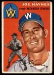 1954 Topps #223  Joe Haynes  Front Thumbnail