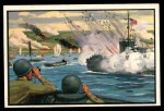 1954 Bowman U.S. Navy Victories #17   D Day Victory Front Thumbnail