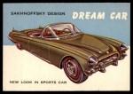 1954 Topps World on Wheels #114   Sakhnoffsky Dream Car Front Thumbnail
