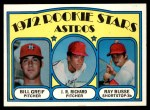 1972 Topps #101   -  J.R. Richard / Bill Grief / Ray Busse Astros Rookies   Front Thumbnail