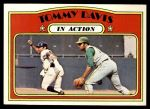 1972 Topps #42   -  Tommy Davis In Action Front Thumbnail