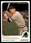 1973 Topps #443  Danny Thompson  Front Thumbnail