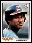 1978 Topps #238  Juan Beniquez  Front Thumbnail