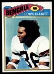 1977 Topps #71  Lenvil Elliott  Front Thumbnail