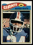 1977 Topps #196  Marsh White  Front Thumbnail