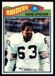 1977 Topps #415  Gene Upshaw  Front Thumbnail