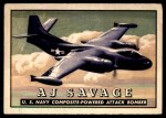1952 Topps Wings #44   AJ Savage Front Thumbnail