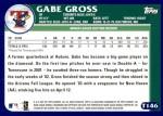 2003 Topps Traded #146 T  -  Gabe Gross Prospect Back Thumbnail